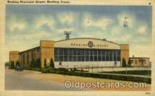 arp001130 - Reading Municipal Airport, REAding, PA USA Airport, Airports Post Card, Post Card