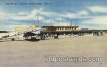 arp001131 - Willamsport Airport, PA USA Airport, Airports Post Card, Post Card