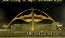 arp001132 - Theme Building, Los Angeles International Airport, Los Angeles, CA USA Airport, Airports Post Card, Post Card