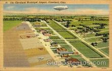 arp001136 - The Cleveland Muncipal Airport, Cleveland, OH USA Airport, Airports Post Card, Post Card