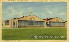 arp001139 - Worlds Largest Airport, Barksdale Field, Shreveport, LA USA Airport, Airports Post Card, Post Card