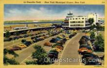arp001141 - La Guardia Field, New York, NY USA Airport, Airports Post Card, Post Card