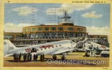arp001142 - La Guardia Field, New York, NY USA Airport, Airports Post Card, Post Card
