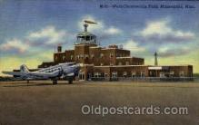 arp001143 - World Chamberlain Field, St Paul, Minneapolis, MN USA Airport, Airports Post Card, Post Card