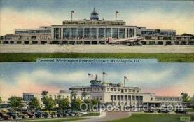 arp001144 - Terminal Washinton National Airport, Washington DC USA Airport, Airports Post Card, Post Card
