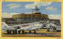 arp001149 - La Guardia Field, New York, NY USA Airport, Airports Post Card, Post Card