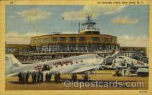 arp001157 - La Guardia Field, New York, NY USA Airport, Airports Post Card, Post Card