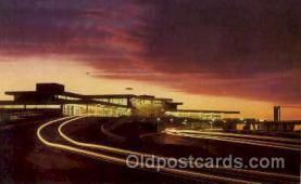 arp001158 - Pulaski Municipal Airport, Pulaski, VA USA Airport, Airports Post Card, Post Card