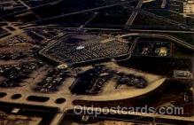 arp001161 - Aerial View Of O Hare Airport, Chicago, IL USA Airport, Airports Post Card, Post Card