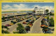 arp001168 - La Guardia Field, New York, NY USA Airport, Airports Post Card, Post Card