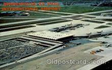 arp001171 - Aerial View Of Minneapolis St Paul International Airport, MN USA Airport, Airports Post Card, Post Card