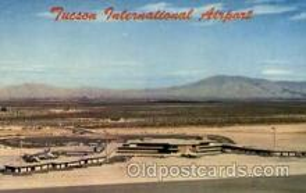 arp001172 - Tuscon International Airport, Tuscon, AZ USA Airport, Airports Post Card, Post Card