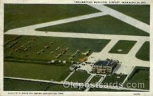 arp001178 - Indianapolis Municipal Airport, Indianapolis, IN USA Airport, Airports Post Card, Post Card