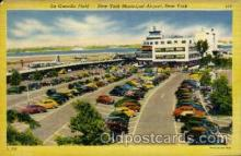 arp001180 - La Guardia Field, New York, NY USA Airport, Airports Post Card, Post Card