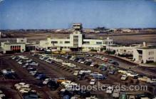 arp001181 - Lockheed Air Terminal, Burbank, CA USA Airport, Airports Post Card, Post Card