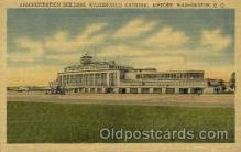 arp001184 - Administration Building, Washington National Airport, Washington DC, SUA Airport, Airports Post Card, Post Card