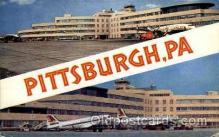 arp001185 - Greater Pittsburgh Airport, Pittsburgh, PA USA Airport, Airports Post Card, Post Card