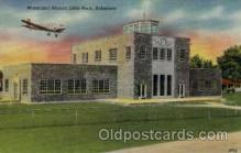 arp001192 - Municipal Airport, Little Rock, AK USA Airport, Airports Post Card, Post Card