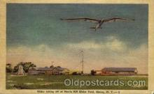 arp001210 - Harris Hill Glider Field, NY USA Airport, Airports Post Card, Post Card