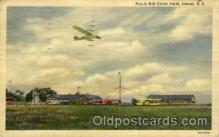 arp001247 - Harris Hill Glider, Elmira, NY USA Airport, Airports Post Card, Post Card