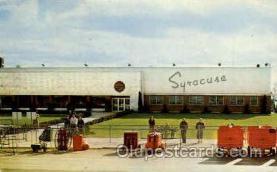 arp001254 - Terminal Building Hancock Airport, Syracuse, NY USA Airport, Airports Post Card, Post Card