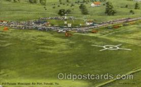 arp001256 - Pulaski Municipal Airport, Pulaski, VA USA Airport, Airports Post Card, Post Card
