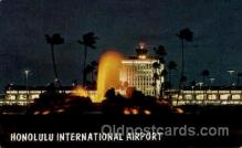 arp001260 - Honolulu International Airport, HI USA Airport, Airports Post Card, Post Card
