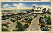 arp001265 - La Guardia Field, New York, NY USA Airport, Airports Post Card, Post Card