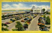 arp001285 - La Guardia Field, New York, NY USA Airport, Airports Post Card, Post Card