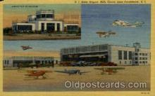 arp001289 - RI State Airport, Hills Grove, Providence, RI USA Airport, Airports Post Card, Post Card