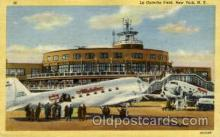 arp001296 - La Guardia Field, New York, NY USA Airport, Airports Post Card, Post Card