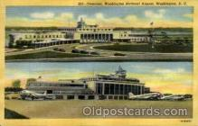 arp001297 - National Airport, Washington DC, USA Airport, Airports Post Card, Post Card