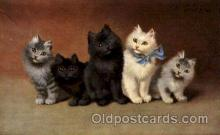 art151103 - Series 1002 Artist Sperlich Cat, Cats Post Card Post Card