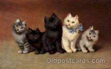 art151114 - Series 1002 Artist Sperlich Cat, Cats Post Card Post Card