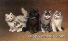 art151116 - Series 1002 Artist Sperlich Cat, Cats Post Card Post Card