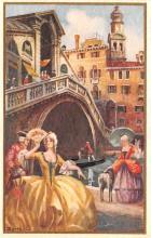 art181001 - Artist Signed Bertani Post Card