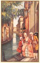 art181004 - Artist Signed Bertaini Post Card