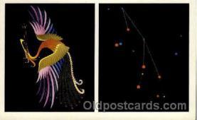 ast001005 - Phoenix The Firebird Astrology Postcard Post Card