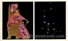 ast001006 - Cassiopeia The Queen Astrology Postcard Post Card