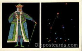 ast001015 - Cepheus TheKing Astrology Postcard Post Card