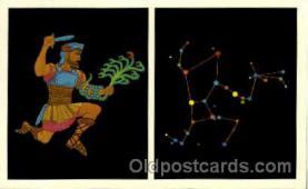 ast001022 - Hercules The Strong Man Astrology Postcard Post Card