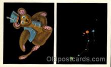 ast001025 - Ursa Minor The Little Bear Astrology Postcard Post Card