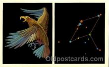 ast001026 - Aquila The Eagle Astrology Postcard Post Card