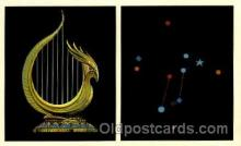 ast001029 - Lyra The Lyre Astrology Postcard Post Card