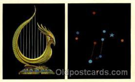ast001029 - Lyra The Lyre Astrology Postcard Post Card