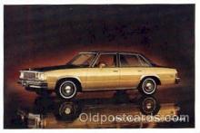 aut100017 - 1980 Malibu Classic Sedan Auto, Automobile, Car, Postcard Post Card