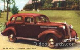 aut100024 - 1936 Pontiac Touring Sedan Auto, Automobile, Car, Postcard Post Card
