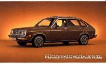aut100037 - Chevette Hatchback Sedan Auto, Automobile, Car, Postcard Post Card