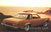 aut100048 - 1977 Granada GHIA Auto, Automobile, Car, Postcard Post Card