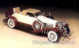 aut100051 - 1935 Duesenberg Decanter Auto, Automobile, Car, Postcard Post Card